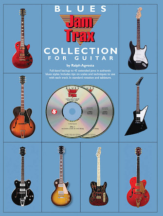 Product Cover for Blues Jam Trax Collection for Guitar