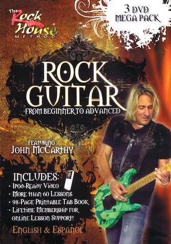 John McCarthy – Learn Rock Guitar Mega-Pack
