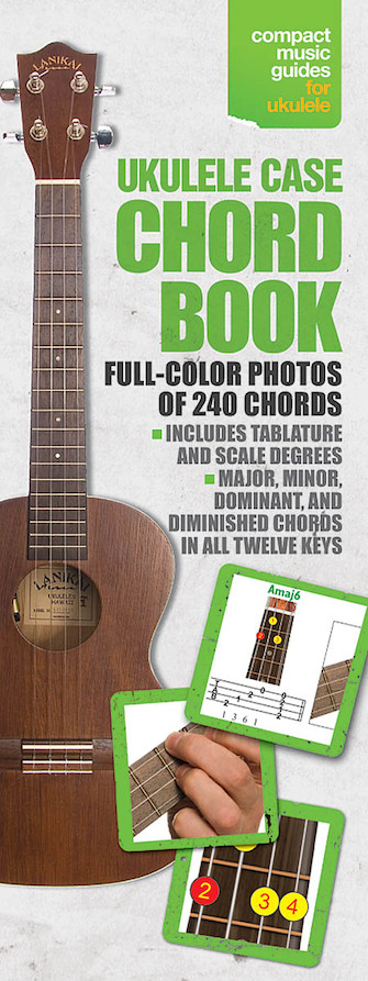 Product Cover for Ukulele Case Chord Book