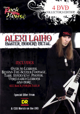 Product Cover for Alexi Laiho: Master Modern Metal