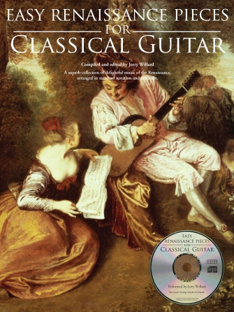 Product Cover for Easy Renaissance Pieces for Classical Guitar