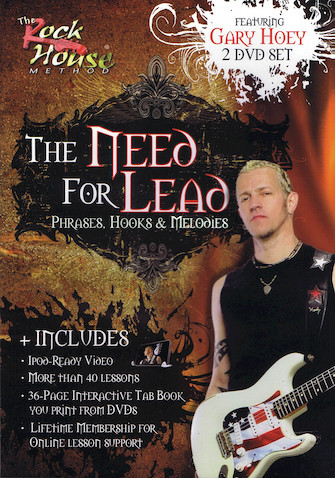 Product Cover for Gary Hoey – The Need for Lead