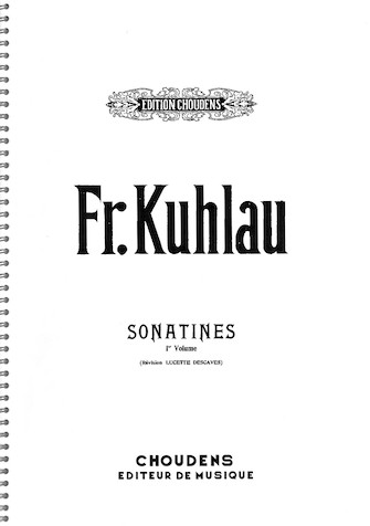 Product Cover for Sonatines – Volume 1