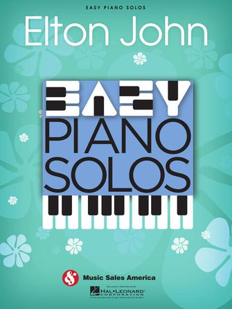 Product Cover for Elton John – Easy Piano Solos