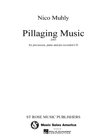 Product Cover for Pillaging Music