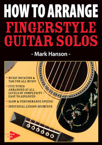 Product Cover for How to Arrange Fingerstyle Guitar Solos