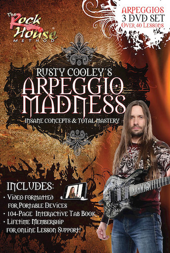 Product Cover for Rusty Cooley – Arpeggio Madness