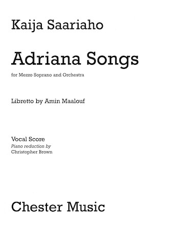 Product Cover for Adriana Songs