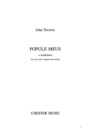 Product Cover for Popule Meus: A Meditation