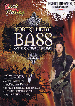 John Moyer of Disturbed – Modern Metal Bass