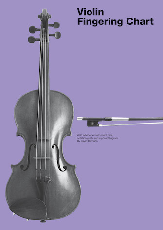 Product Cover for Violin Fingering Chart