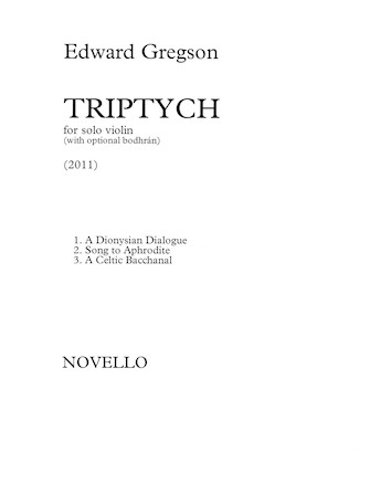 Product Cover for Triptych