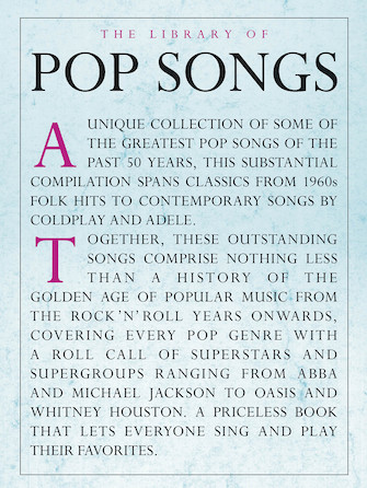 Product Cover for The Library of Pop Songs