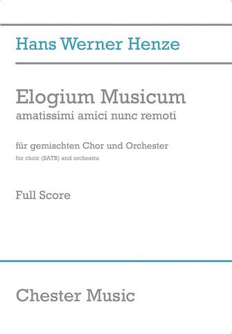 Product Cover for Elogium Musicum