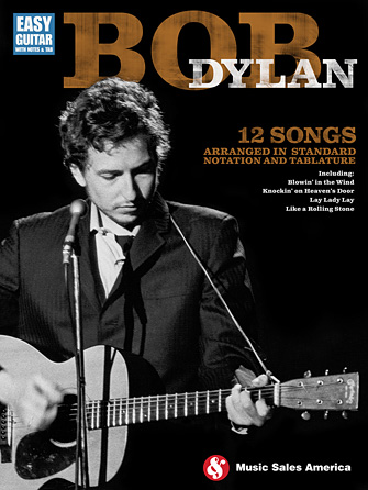 Product Cover for Bob Dylan – Easy Guitar