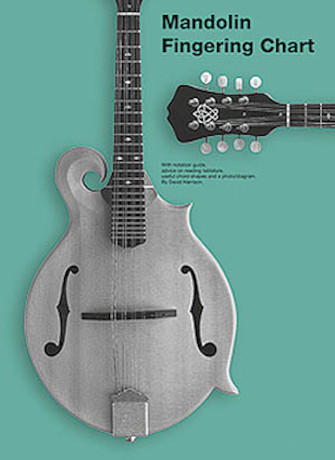 Product Cover for Mandolin Fingering Chart