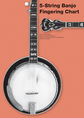 Product Cover for 5-String Banjo Fingering Chart