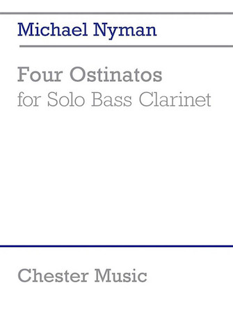 Product Cover for 4 Ostinatos for Solo Bass Clarinet