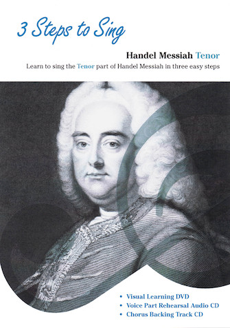 Product Cover for 3 Steps to Sing Handel Messiah