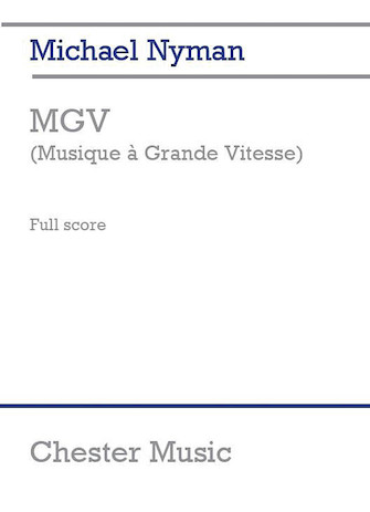 Product Cover for MGV (Musique à Grande Vitesse)