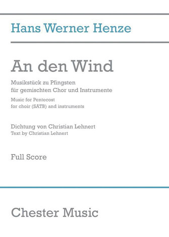 Product Cover for An den Wind