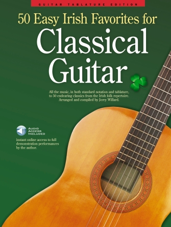 Product Cover for 50 Easy Irish Favorites for Classical Guitar