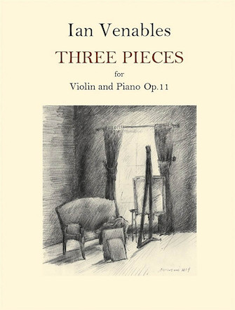 Product Cover for 3 Pieces for Violin and Piano, Op. 11