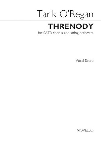 Threnody from Triptych : SATB : Tarik O'Regan : Tarik O'Regan : Sheet Music : 14043573 : 888680080860
