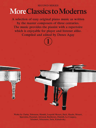 Product Cover for More Classics to Moderns – Second Series, Book 1