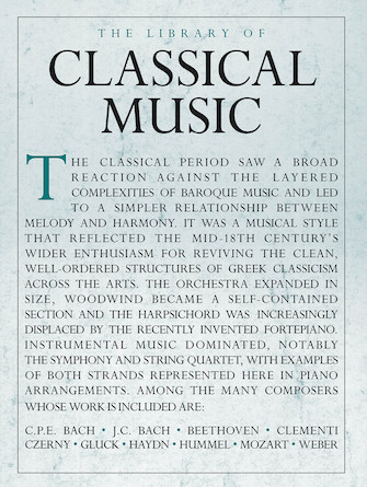 Product Cover for The Library of Classical Music