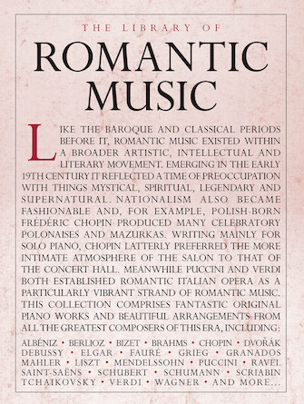 Product Cover for The Library of Romantic Music