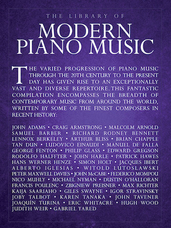 Product Cover for The Library of Modern Piano Music