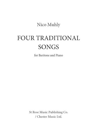 Product Cover for Four Traditional Songs