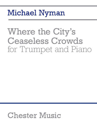Product Cover for Where the City's Ceaseless Crowds