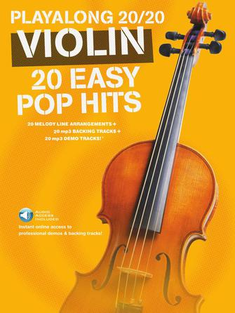 Product Cover for Play Along 20/20 Violin
