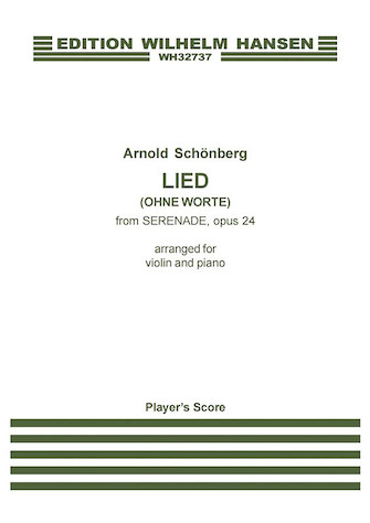 Product Cover for Lied (Ohne Worte) from Serenade Op. 24
