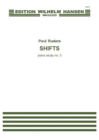 Product Cover for Shifts - Piano Study No. 3