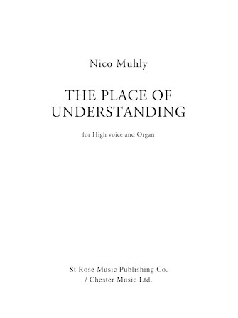 Product Cover for The Place of Understanding