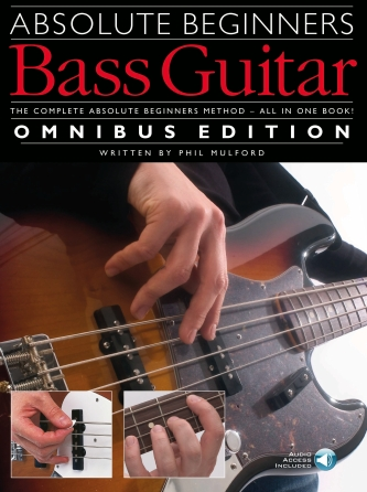 Product Cover for Absolute Beginners – Bass Guitar – Omnibus Edition