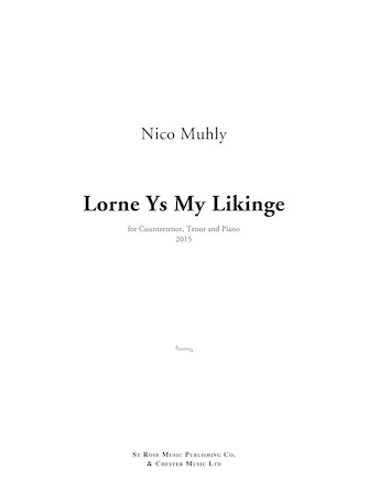 Product Cover for Lorne Ys My Likinge