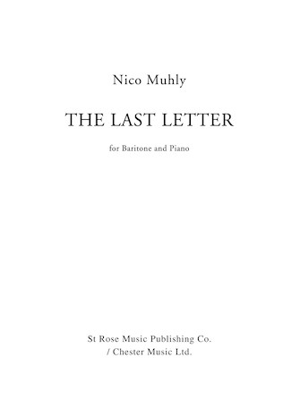 Product Cover for The Last Letter