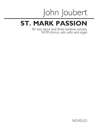Product Cover for St. Mark Passion