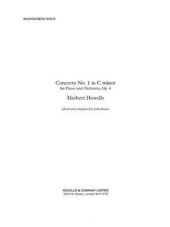 Product Cover for Piano Concerto No. 1