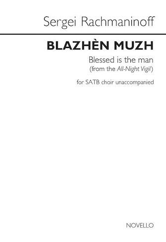 Product Cover for Blazhen Muzh (Blessed Is the Man) (from the All-Night Vigil)