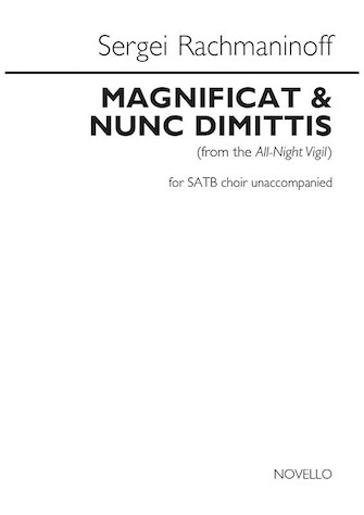 Product Cover for Magnificat & Nunc Dimittis (from the All-Night Vigil)