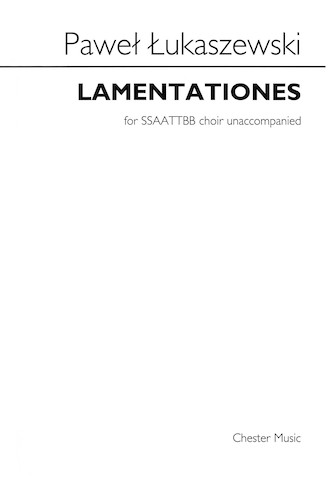 Product Cover for Lamentationes