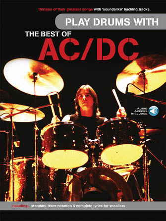 Product Cover for Play Drums with the Best of AC/DC