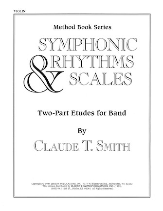 Product Cover for Symphonic Rhythms & Scales