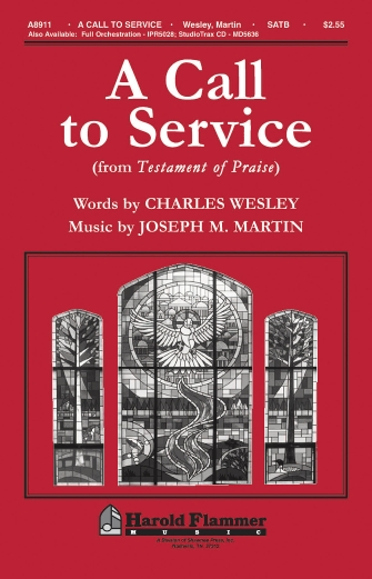 A Call to Service (from Testament of Praise) : SATB : Joseph Martin : Joseph Martin : Sheet Music : 35000020 : 747510192114