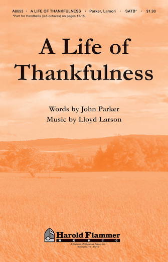 Product Cover for A Life of Thankfulness